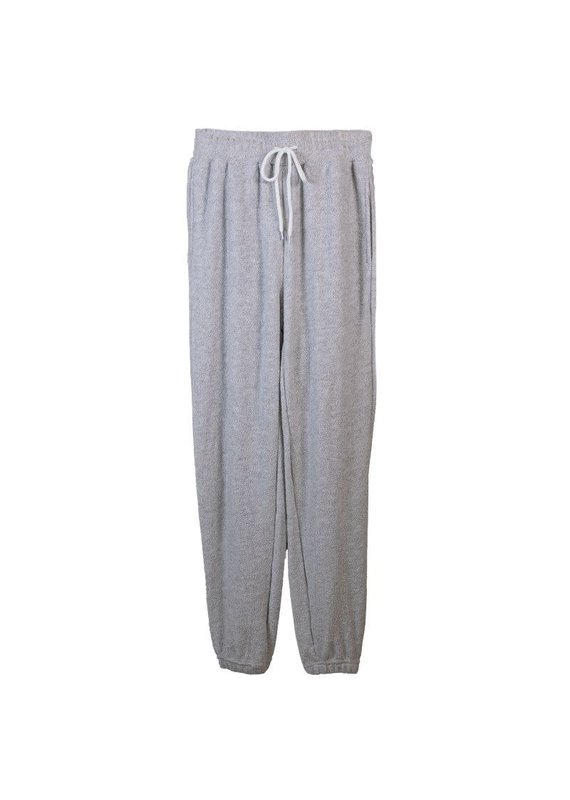 ******Simply Southern Terry Jogger Pant Gray