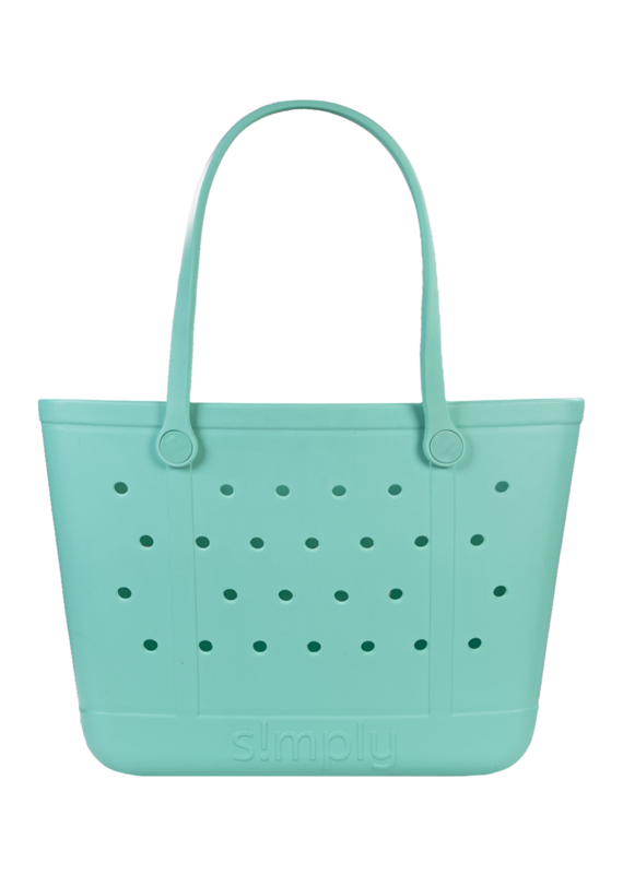*****Simply Southern Simply Tote Large Turquoise