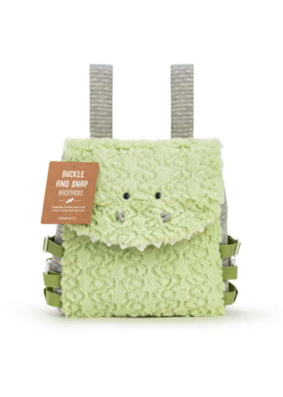 *****Buckle and Snap Backpack Dinosaur