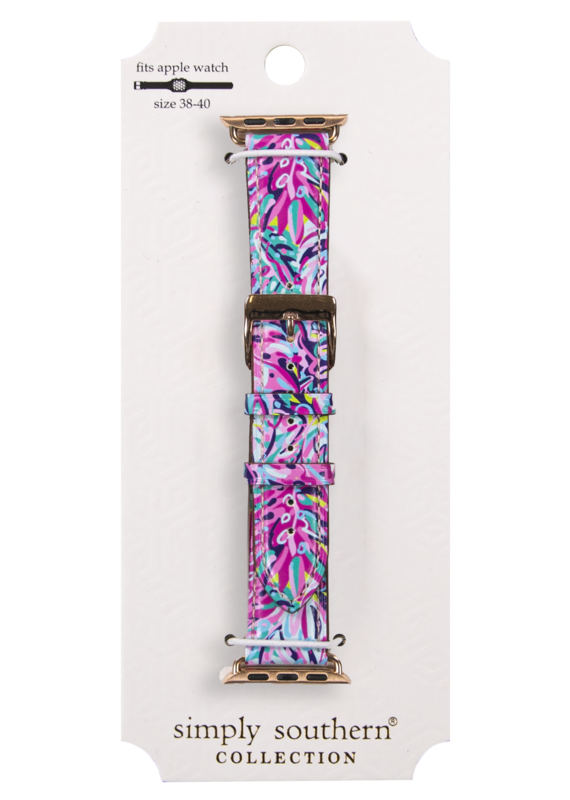 *****Simply Southern Rainforest Apple Watchband