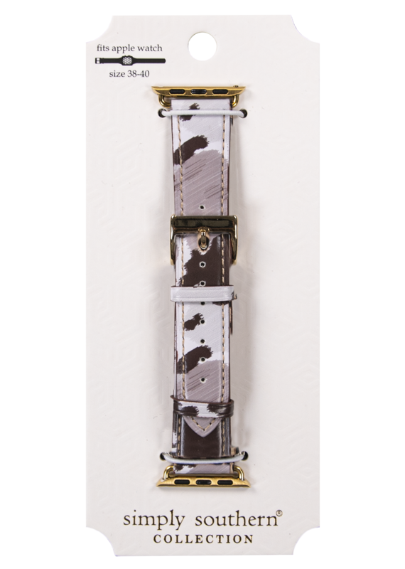 *****Simply Southern Cow Apple Watchband