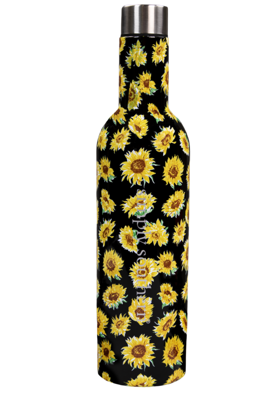 *****Simply Southern Wine Tumbler Sunflower 25oz