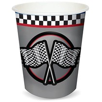 ***Racing 9oz Hot/Cold Cups 8ct