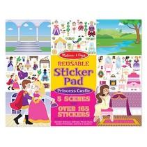 ***Reusable Sticker Pad Princess Castle