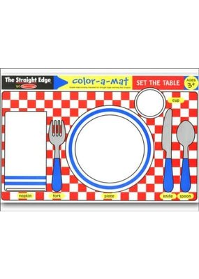 ***Learning Mat Set the Table
