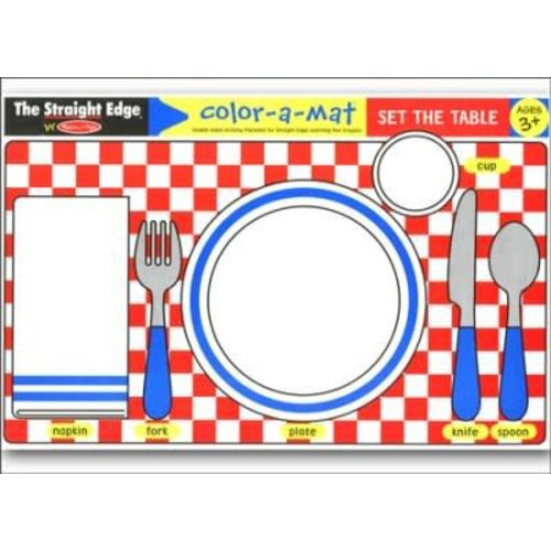 Learning Mat Set the Table