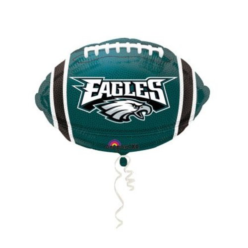 78ee8761604 *Philadelphia Eagles Football Shape Mylar Balloon