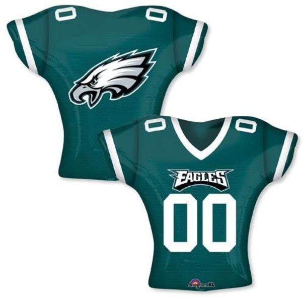 *Philadelphia Eagles Jersey Shape Mylar Balloon