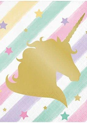***Unicorn Sparkle Beverage Napkin