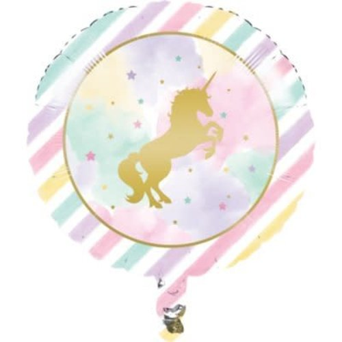 *Unicorn Sparkle Mylar Balloon
