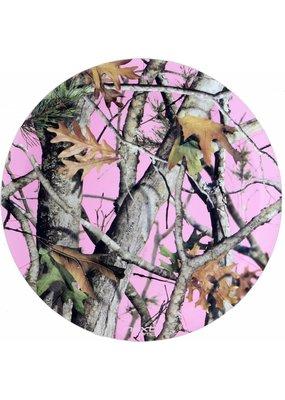 "***Pink Mossy Oak 9"" plates"
