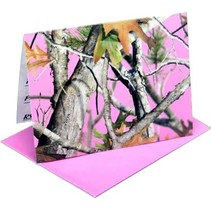 ***Pink Mossy Oak Invitations