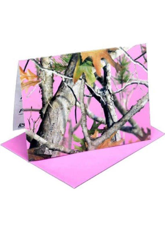***Pink Mossy Oak Invitations