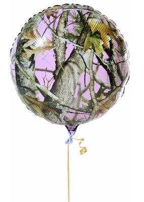 ***Mossy Oak Mylar Balloon Pink