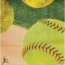 ***Softball Beverage Napkins
