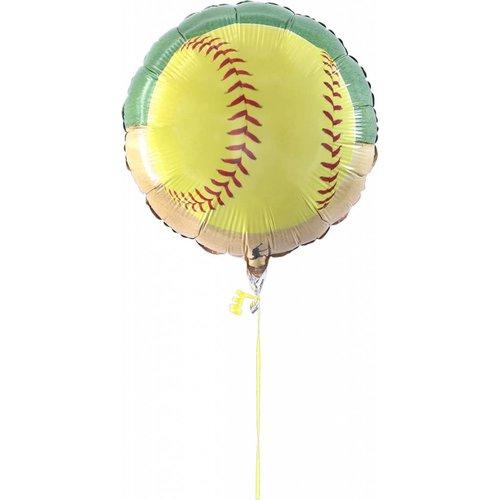 """*Softball 18"""" Mylar Balloon"""