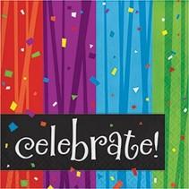 ***Milestone Celebrate Lunch Napkins 16ct