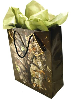 ***Mossy Oak Gift Bag w/tissue