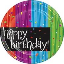 "***Milestone Birthday Dessert 7"" Plate"