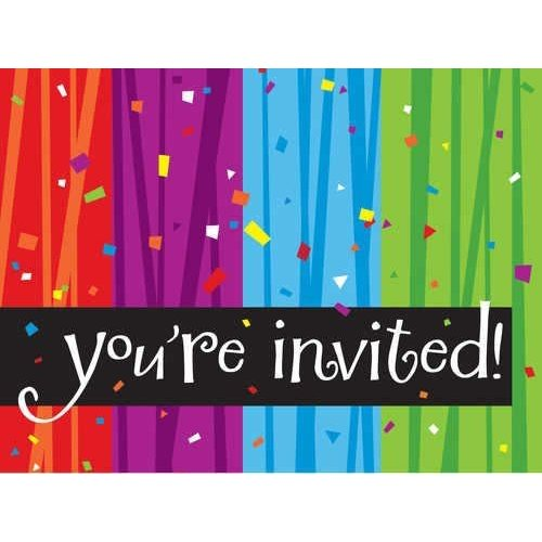 *Milestone Invitations 8ct