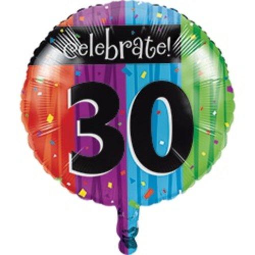 *Milestone 30 Mylar Balloon