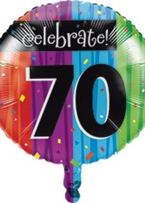 ***Milestone 70 Mylar Balloon