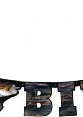 ***Gone Fishing Birthday Banner