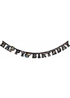 ***Gone Fishing Birthday Banner