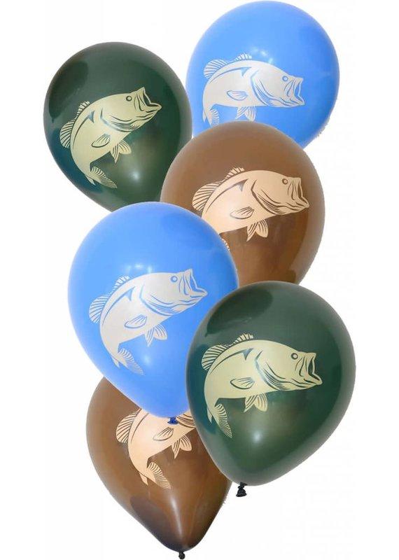 *****Gone Fishin' Latex Balloons