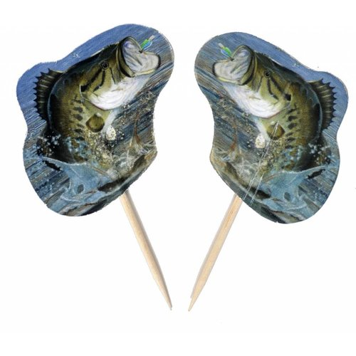 Gone Fishin' Cupcake Picks
