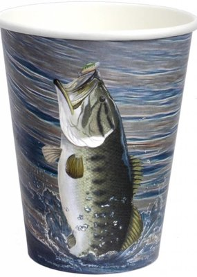 ***Gone Fishin' 12oz Cup