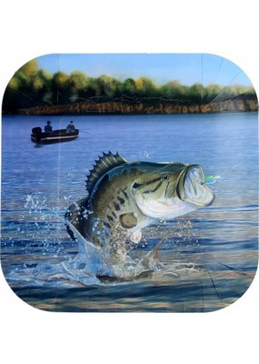 ***Gone Fishin 9in Dinner Plate