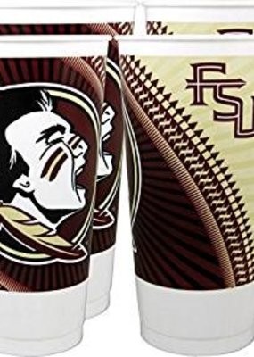 ***Florida State Souvenir Cups 4ct