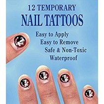 ***Florida State Seminole Nail Stickers 12ct