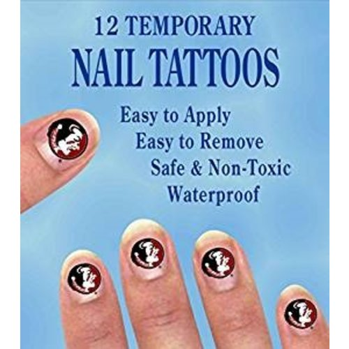*Florida State Seminole Nail Stickers 12ct