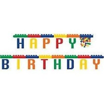 ***Block Party Birthday Jointed Banner