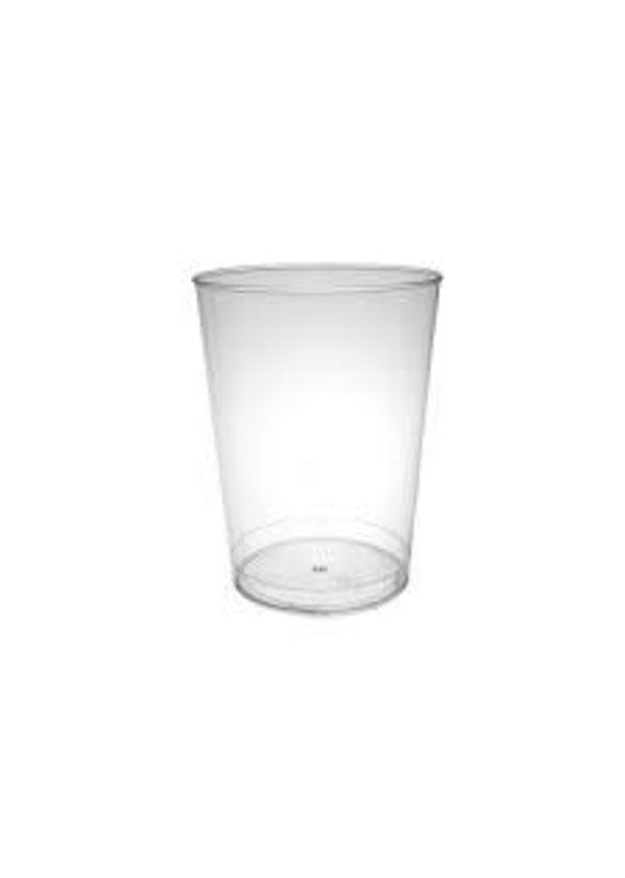***Clear 12oz Plastic Tumbler 20ct
