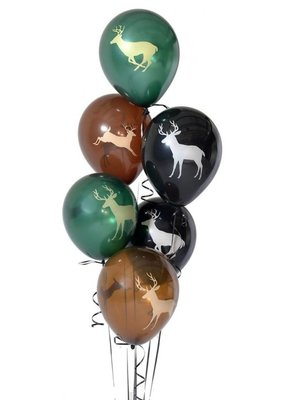 ***Buck Latex Balloons