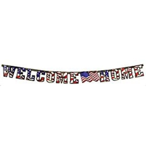 American Heros Welcome Home Banner
