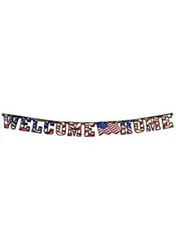***American Heros Welcome Home Banner