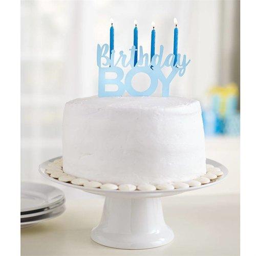 Birthday Boy Candle Holder