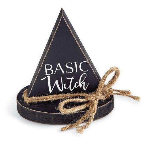 Basic Witch Plaque