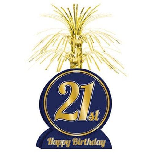 21st Birthday Centerpiece