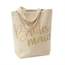 ***Bridesmaid Canvas Tote Bag