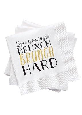 ***Brunch Hard Cocktail Napkin