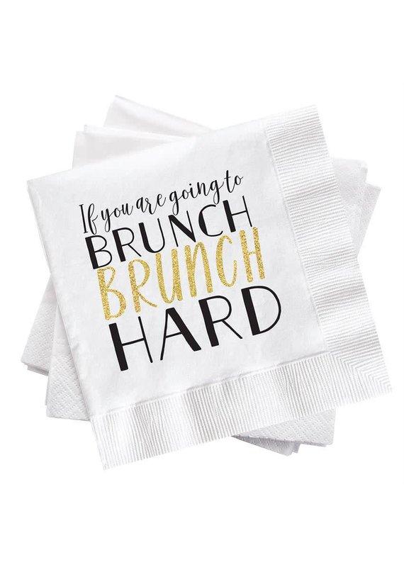 ****Brunch Hard Cocktail Napkin