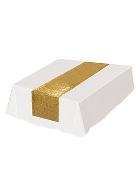 ***Gold Sequined Table Runner