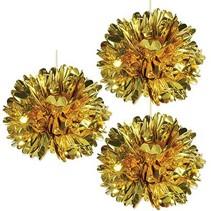 *Metalic Gold Fluff Balls