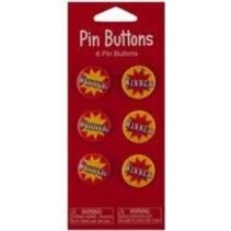 ***Circus Pin Winner Buttons 6ct
