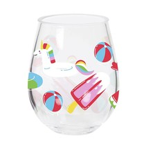 Float Double Wine Glass